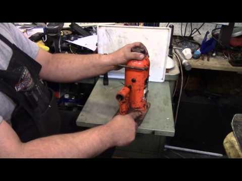 Tinker Talk - Shop press bottle jack tip #1 - No cost mod