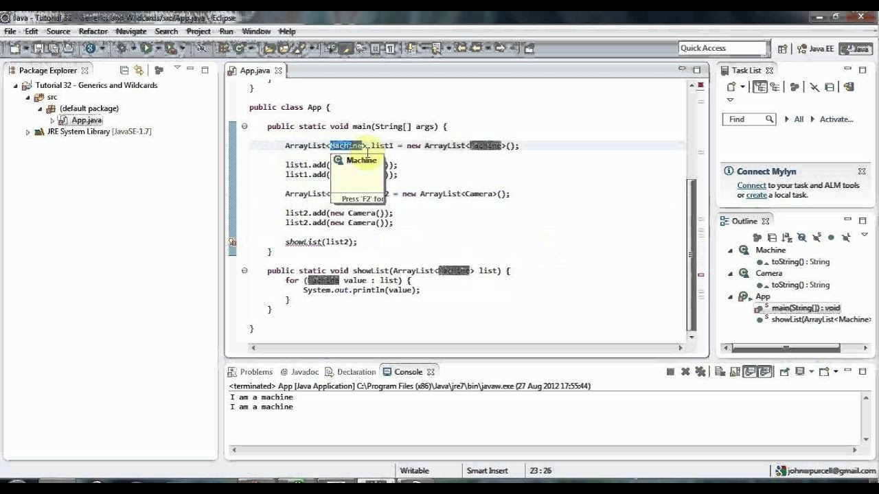 Java generics tutorial for beginners image collections any learn java tutorial for beginners part 31 generics and wildcards learn java tutorial for beginners part baditri Image collections