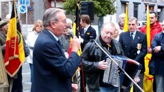 Fêtes de Wallonie 2012 avec Monsieur Gérard Monseux et Monsieur Armand Gérard à l
