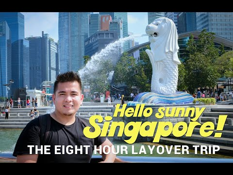 How to travel in Singapore | Layover in the Lion City | Pinoy traveler
