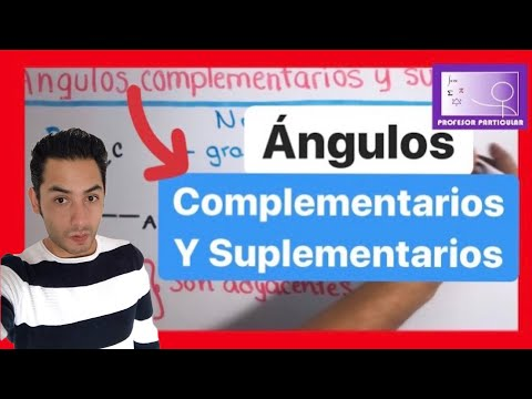 Angulos complementarios y suplementarios   Trigonometr�a