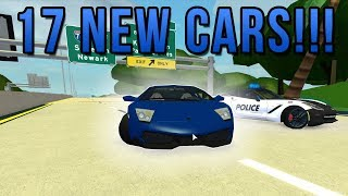 17 NEW CARS!! | ROBLOX - Ultimate Driving Westover Islands