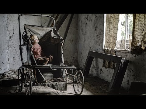(THE DOLL MOVED ON CAMERA) 1850's ABANDONED MANSION Haunted DOLLs