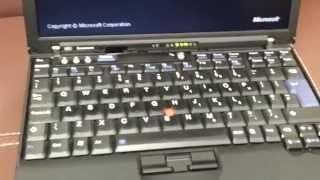 IBM X60 2GB, 1.83 Ghz Core 2 Duo 100 GB HDD, Bluetooth, Docking Station, Finger Impression