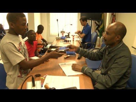 Autoridades montam plano de emergência para ajudar imigrantes do Haiti em SP