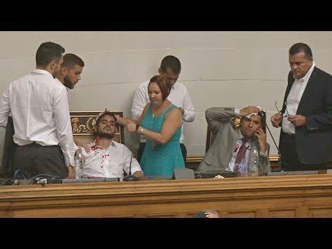 На парламент Венесуэлы напали сторонники Мадуро (новости)