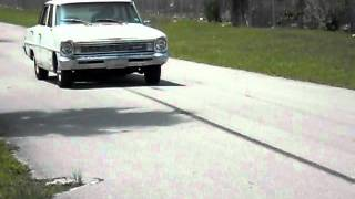 1966 CHEVY II Original 283 - Burnout .avi