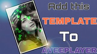 How to add background image on / of template to Avee player 2019 in Telugu || TELUGU TECH ICON 🔥