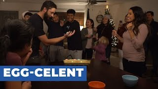 Couple Reveals Gender of Baby Through Egg Roulette Game