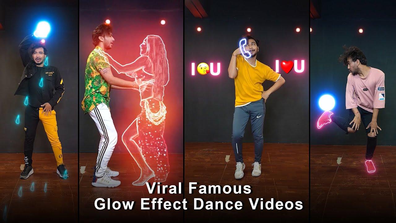 Instagram Viral Glow Effect Dance Videos | Vicky Patel Choreography | BlotterMedia Dance Effect #vfx