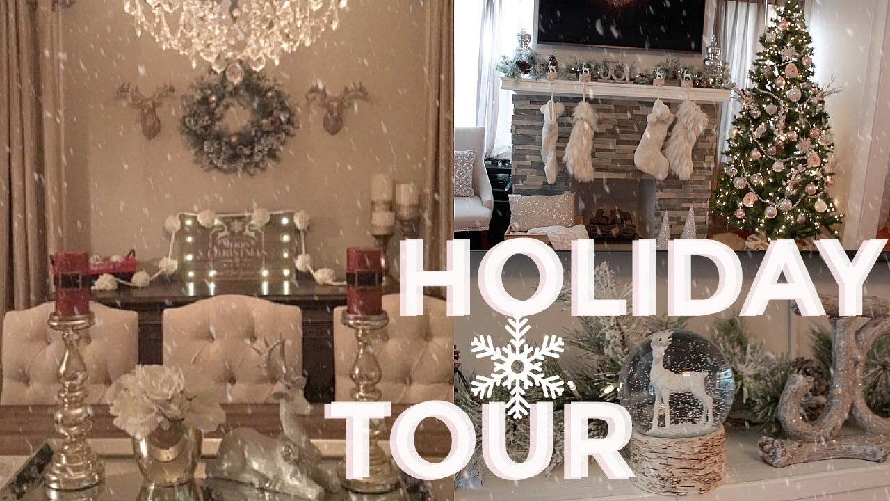 christmas home decoration 2017 christmas home decor tour 2017 edition the real 10591