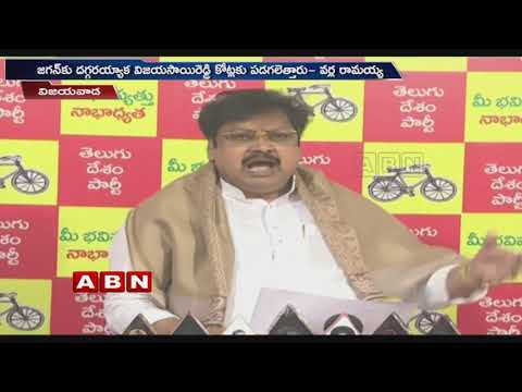 TDP Leader Varla Ramaiah Slams Vijay Sai Reddy Over His Tweets On Anna Canteen