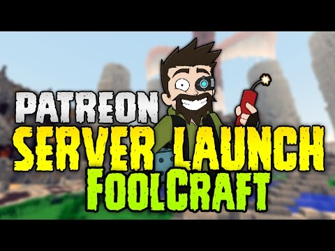 Minecraft: FOOLCRAFT PATREON SERVER LAUNCH! & HOW TO GET BETTER FPS IN FOOLCRAFT!?