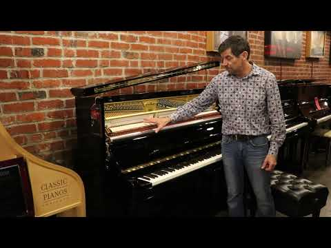Schimmel Konzert Upright Piano Model K132T  For Sale At Classic Pianos Portland 503-239-9969