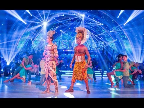 Lion King cast and pro dancers opening dance | Strictly | BBC One