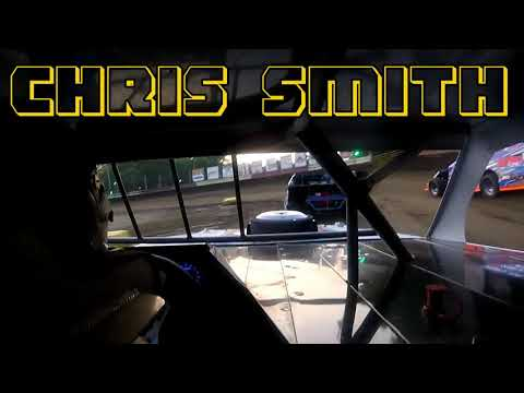 In Car Cam of Chris Smith at Highland Speedway IL. 8-11-18