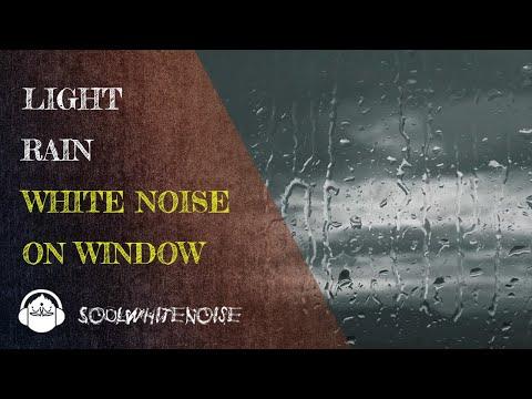 Sound Of Light Rain On Window To Fall Asleep And To Stay Sleeping