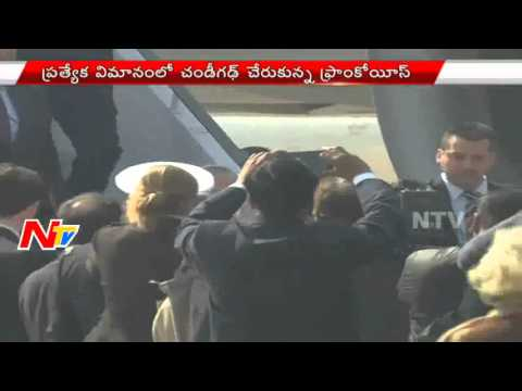 French President Francois Hollande Arrives in India || NTV