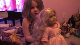 Caroline Doll And Ag Bed Review (5 Year Old)