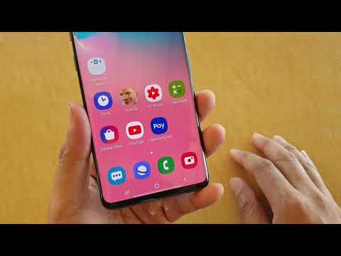 Samsung Galaxy S10 / S10+: How To Enable / Disable Video Calling