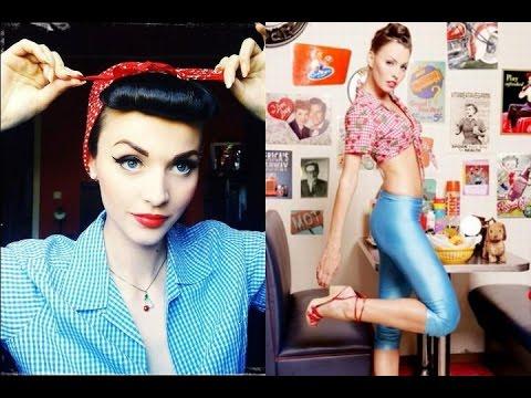 Como vestir si eres Pin Up | looks e ideas para chicas pin up | OUTFITS