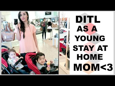 A DITL As A Young Stay At Home Mom!