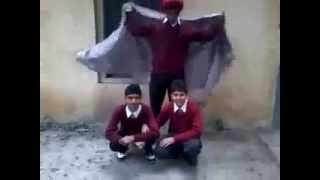 punjabi magician school boy - desi magic trick