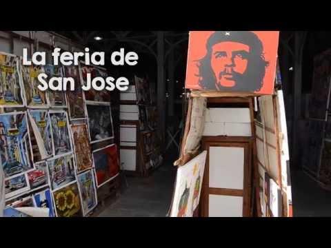 Mercado de San José en La Habana. El Mercado más grande de souvenirs