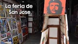 Mercado de San José en La Habana. El Mercado más grande de souvenirs streaming