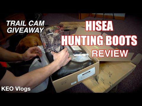 Hisea Waterproof Hunting Boots Review