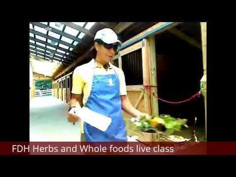 FDH Herbs and Whole foods class clip