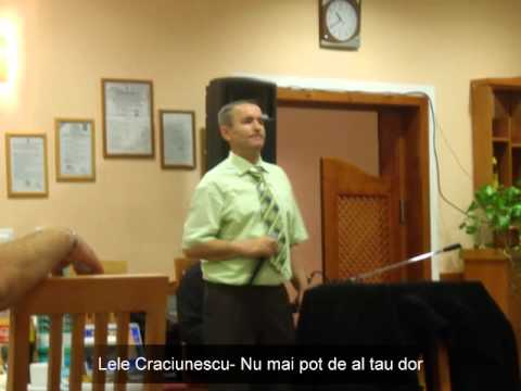 Lele Craciunescu- Nu mai pot de al tau dor