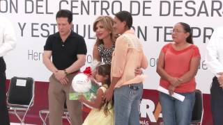 Instalación del Centro Regional de Desarrollo Infantil CEREDI