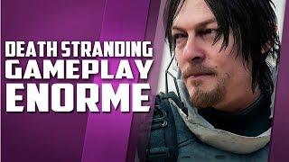 Novo gameplay de Death Stranding, muitas novidades, incrível