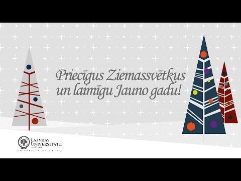 Latvijas Universitāte sveic svētkos!