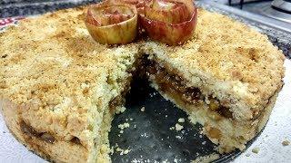Torta de Maçã Crocante – fácil e deliciosa
