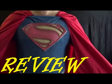 Costume Review Rubies Grand Heritage Superman Man of Steel Costume - YouTube & Costume Review: Rubies Grand Heritage Superman Man of Steel Costume ...