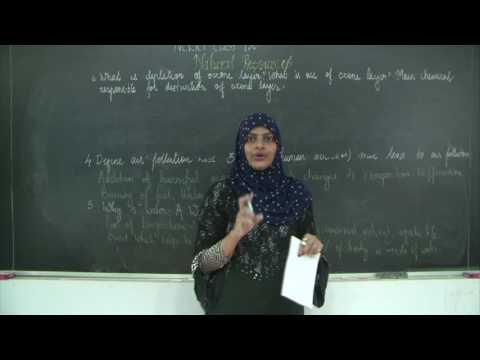 CBSE l Class 9 l Science l Chapter 14 l Natural Resources l Important Questions & Answers l