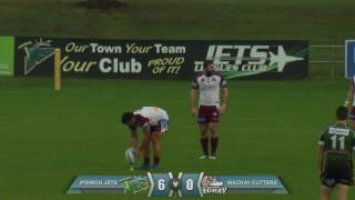 Ipswich Jets V Mackay Cutters 1st Half July 16th 2016