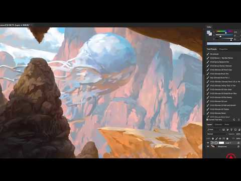 How I Paint Landscapes by Noah Bradley  Photoshop