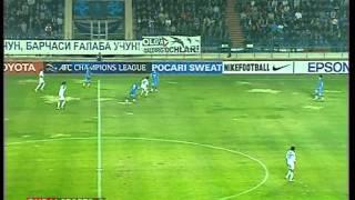 Bunyodkor vs Ulsan Hyundai - 2012 AFC Champions League - Semifinal 1 leg