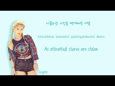TAEYEON - Why Lyrics (Han Rom Eng Color Coded)   Soshi Lyrics