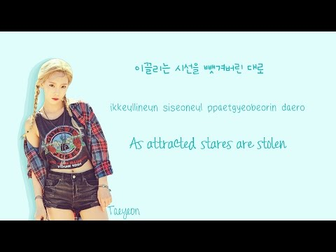 TAEYEON  Why Lyrics HanRomEng Color Coded  Soshi Lyrics