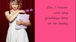 Never Can Say Goodbye - Glee (with Lyrics)