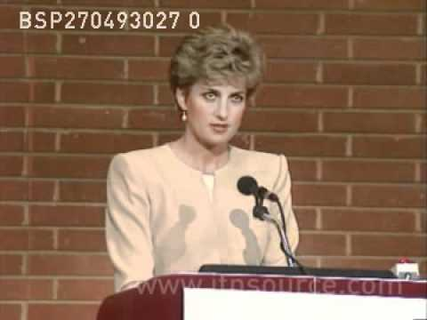 Princess Diana's speech on eating disorders