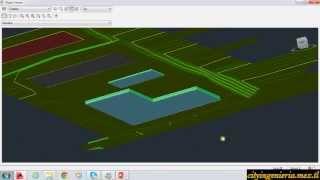 Civil 3D 2014 (8/12) Excavación de Piscina y Plataforma de Losa Deportiva thumbnail