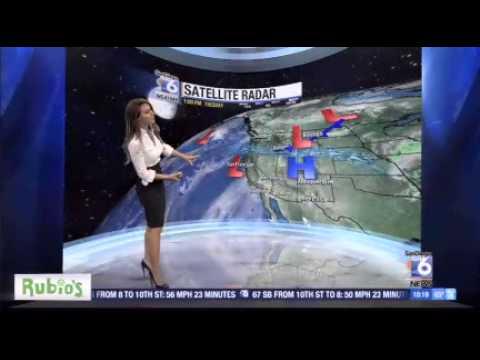 Sabrina Fein Forecasts San Diegos Weather