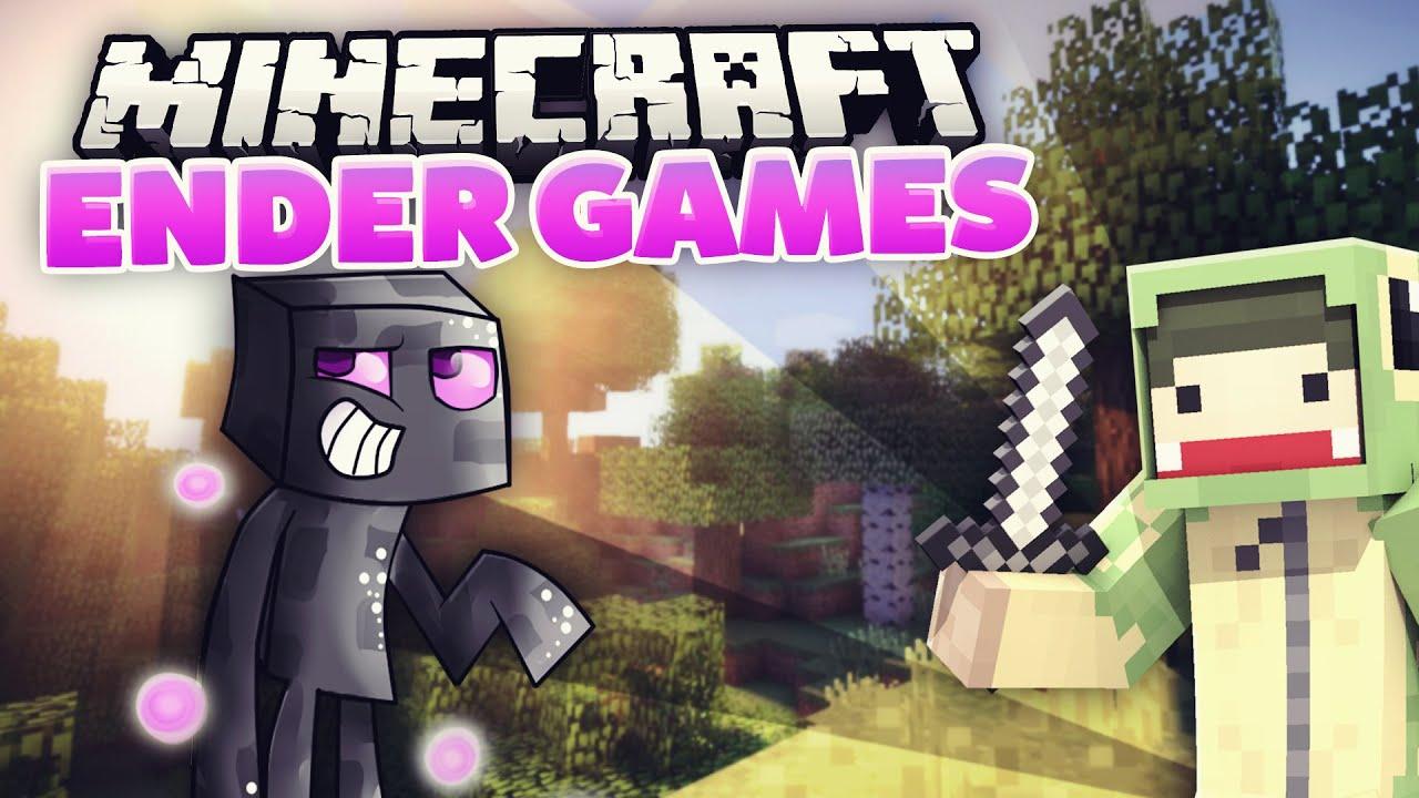 PortSpaß Als ENDERMAN Minecraft ENDER GAMES Unge YouTube - Minecraft enderman spiele