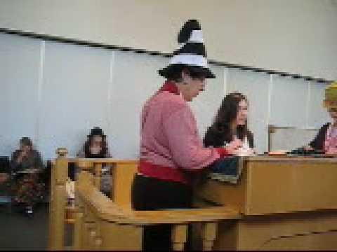 Elana Levy and Daniella Levy Reading Megillat Esther 5769