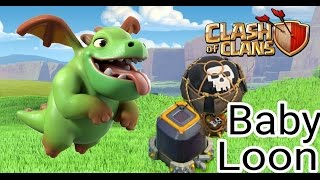 [FARM DARK ELIXIR WITHOUT HEROES ]  BABY-LOON ATTACK STRATEGY | FOR TH 9  DE LOOT |